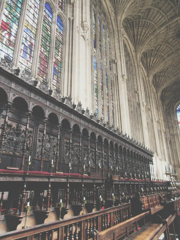 Inside King's Chapel
